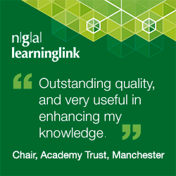 """Outstanding quality, and very useful in enhancing my knowledge.""  Chair, Academy Trust, Manchester"