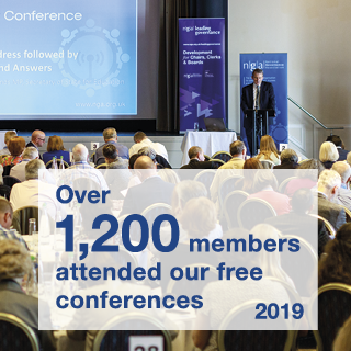 Over 1,200 members attended our free conferences in 2019