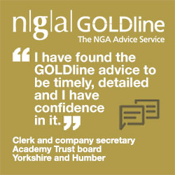 """I have found the GOLDline advice to be timely, detailed and I have confidence in it."" Clerk and company secretary, Academy Trust board, Yorkshire and Humber"