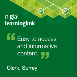 """Easy to access and informative content."" Clerk, Surrey"