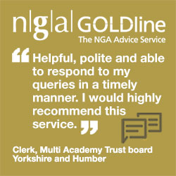 """Helpful, polite and able to respond to my queries in a timely manner. I often use this as a sounding board. I would highly recommend this service."" Clerk, Multi Academy Trust board, Yorkshire and Humber"