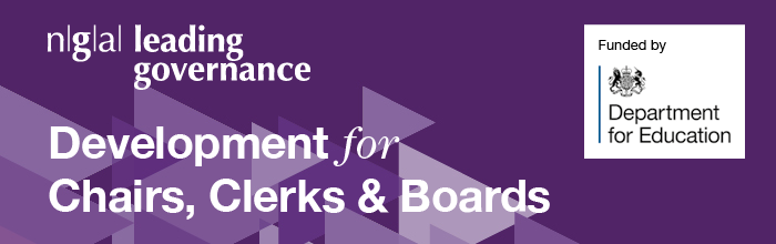 NGA Leading Governance programmes for Chairs, Clerks & Boards